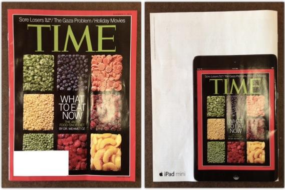 Magazine Ad สุดครีเอทของ iPad Mini