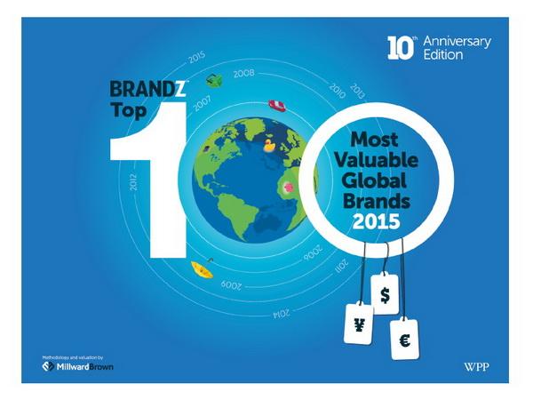 brandz top 100 brand 2015 cover