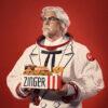 KFC เล่นใหญ่ได้อีก! เปิดตัวเบอร์เกอร์ในอวกาศ พร้อมร่างทรงผู้พันแซนเดอร์คนล่าสุด