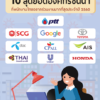 jobsDB เผย 10 สุดยอดองค์กรในฝัน ประจำปี 2560