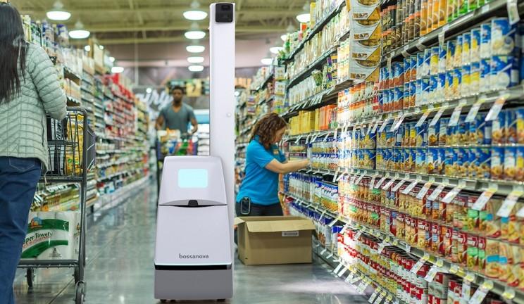 robot walmart วอลมาร์ท หุ่นยนต์ เช็คสต็อก