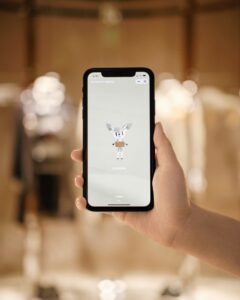 Burberry Shenzhen store - WeChat mini program c Courtesy of Burberry