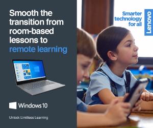 Lenovo ทำห้องเรียนออนไลน์ให้เกิดขึ้นจริงซอฟต์แวร์และแหล่งข้อมูลการเรียนทางไกล