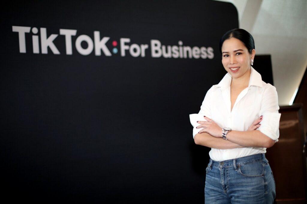สิรินิธิ์ วิรยศิริ Head of Business Marketing tiktok Thailand