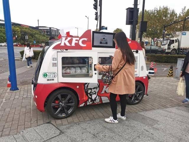 kfc 5g driverless เคเอฟซี