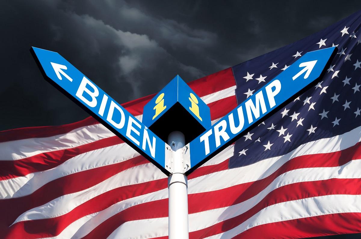 us election 2020 Trump Biden