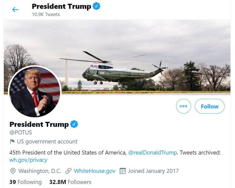 trump goodbye ทรัมป์ เลือกตั้ง สหรัฐ potus
