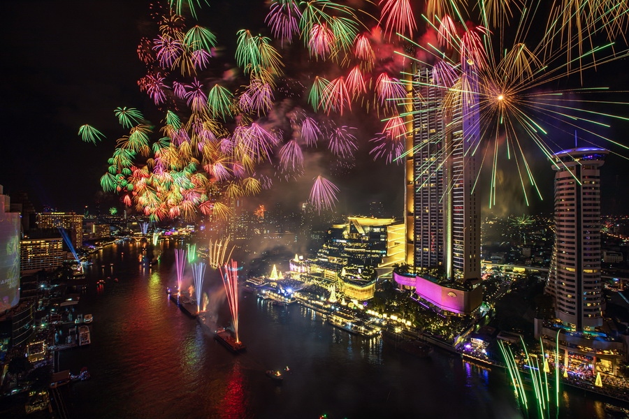 Amazing Thailand Countdown ไอคอนสยาม