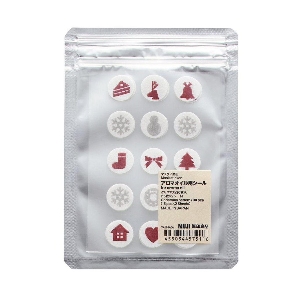 MUJI Aroma Sticker Mask2