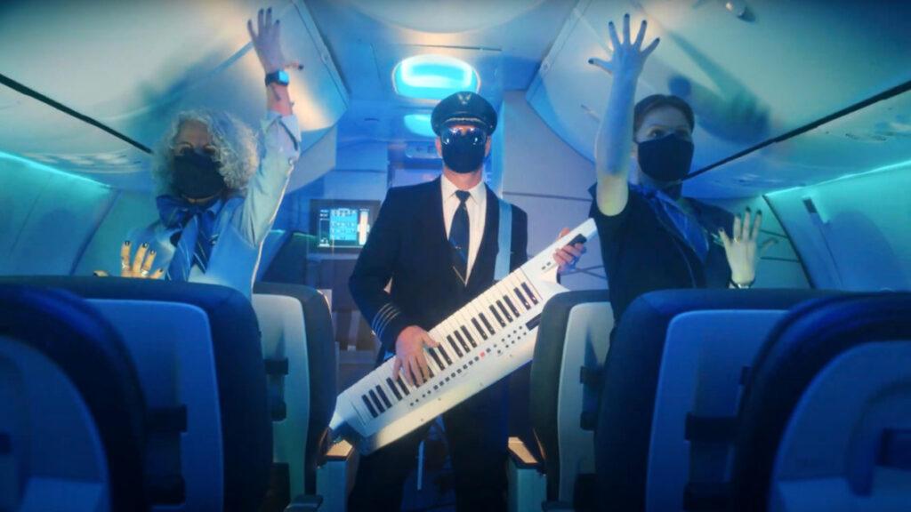 alaska airline safety dance