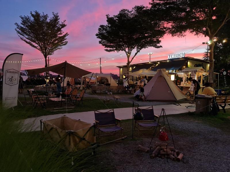 Outdoor Cafe (Kamaboko Coffee Camp)