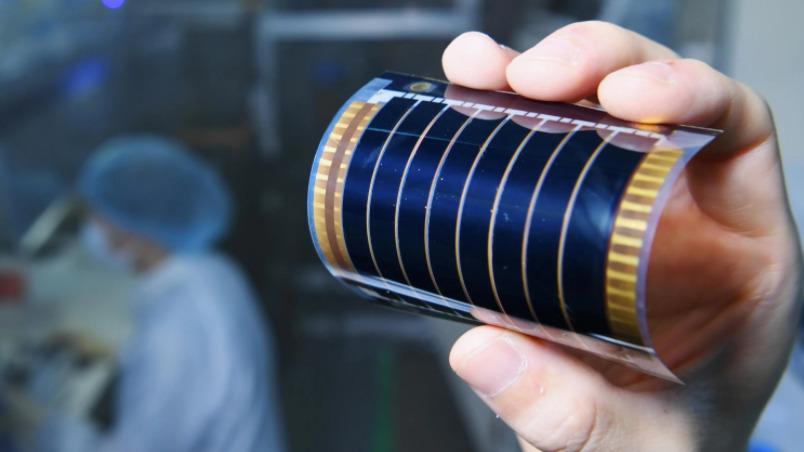 perovskite photovoltaic cell Toshiba