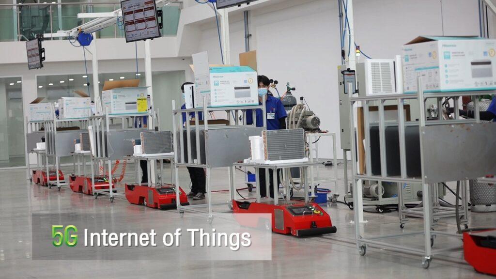 เทคโนโลยี IoT เข้ามาช่วยให้การขนส่งชิ้นส่วนระหว่างโรงงาน
