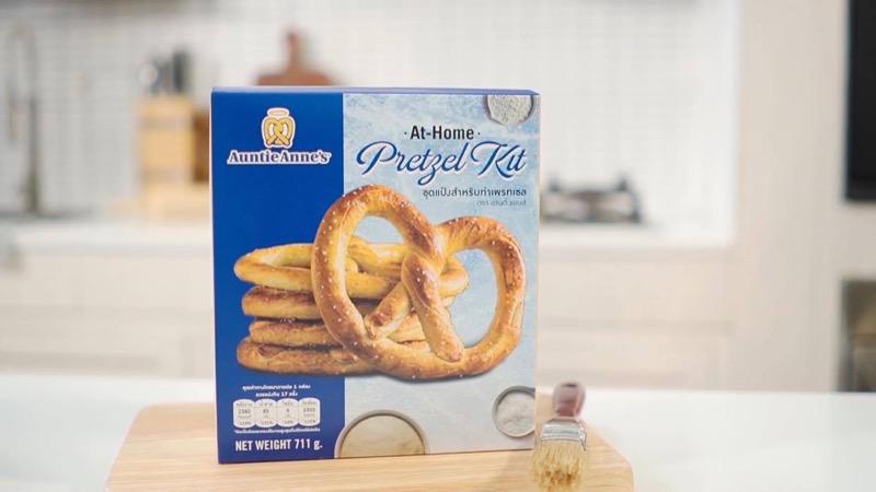 Auntie Anne's At-Home Pretzel Kit