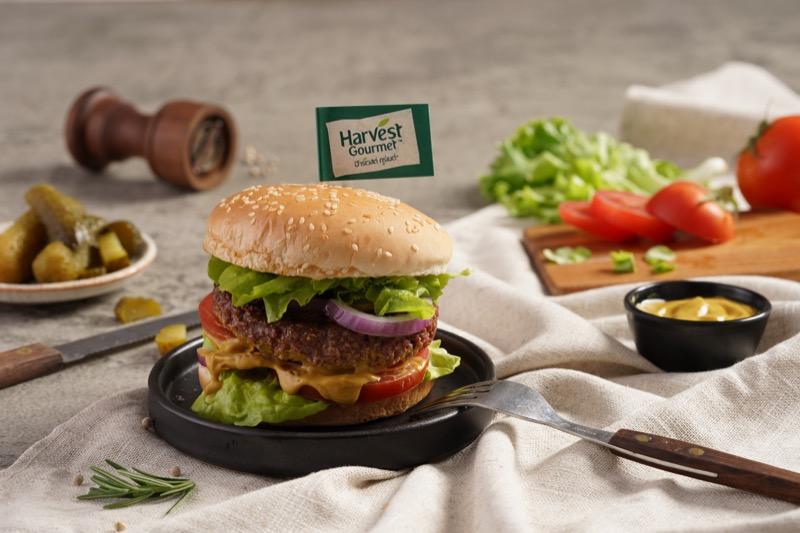 HARVEST GOURMET_Plant-based Foods_Sensational Burger