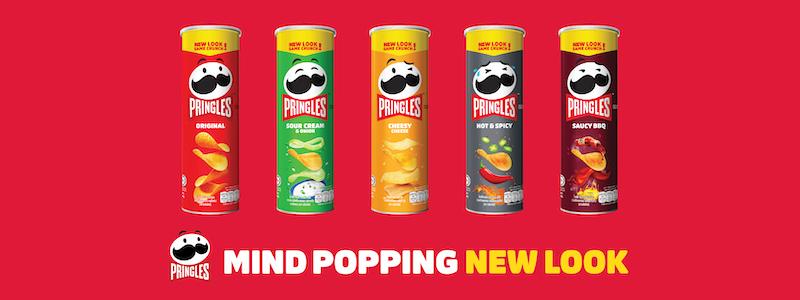 Pringles new logo and pagkaging
