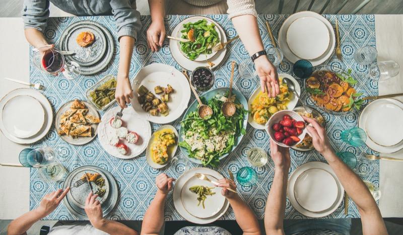 plant-based foods-dinner