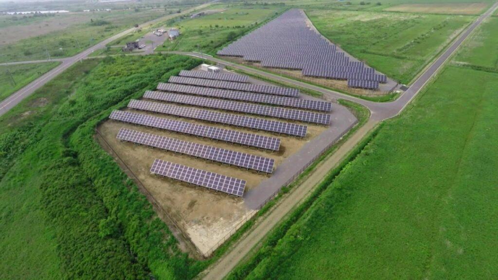 solar farm panasonic hokkaido