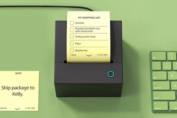 Printer-amazon sticky note