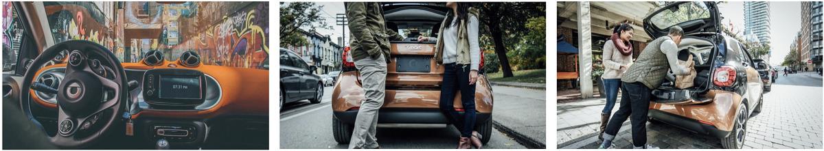 Shutterstock Studios + Smart Car