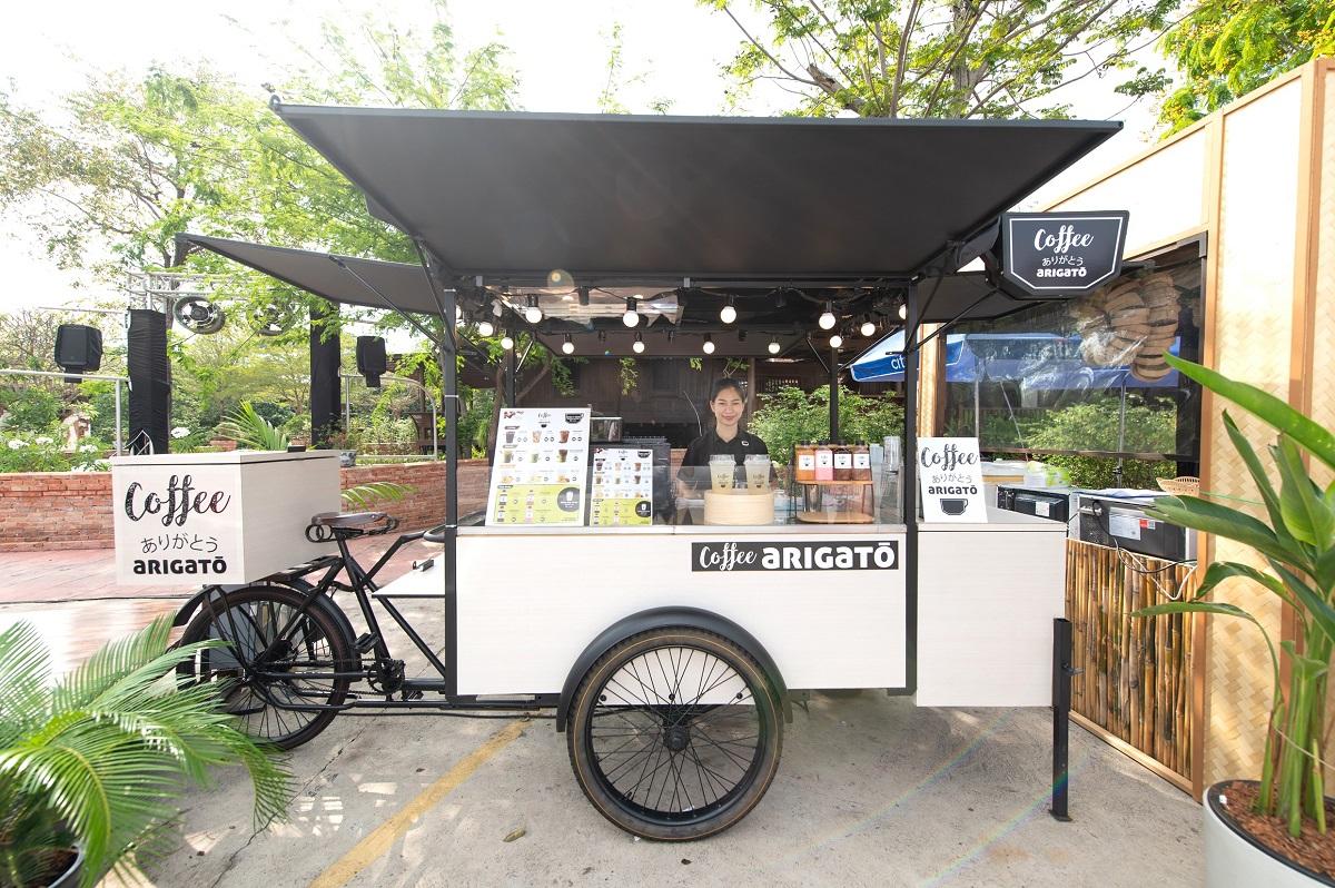 Coffee Arigato Bicycle Model