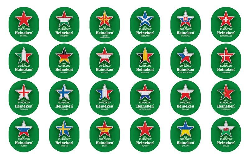 Heineken EURO 2020_Label