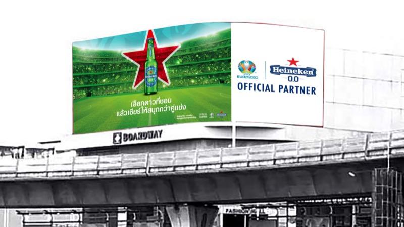Heineken EURO 2020_Out Of Home