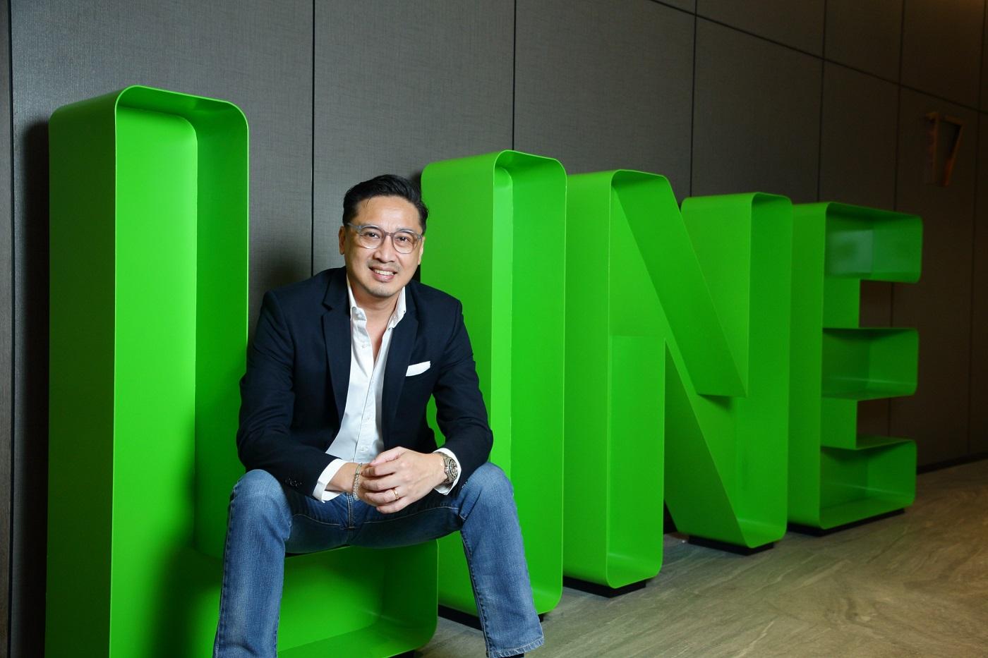 LINE 10th Anniversary - Dr. Phichet Rerkpreecha CEO