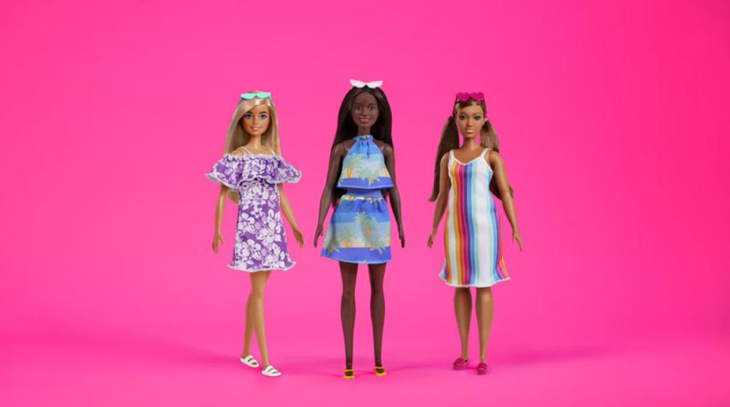 barbie recycle plastic