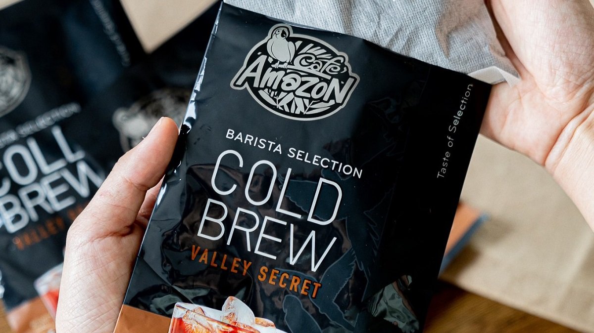 cafe amazon cold Brew