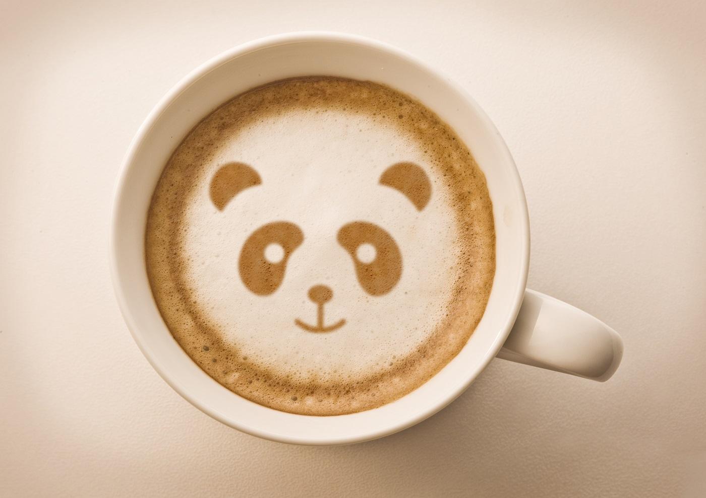 shutterstock_coffee china bear panda