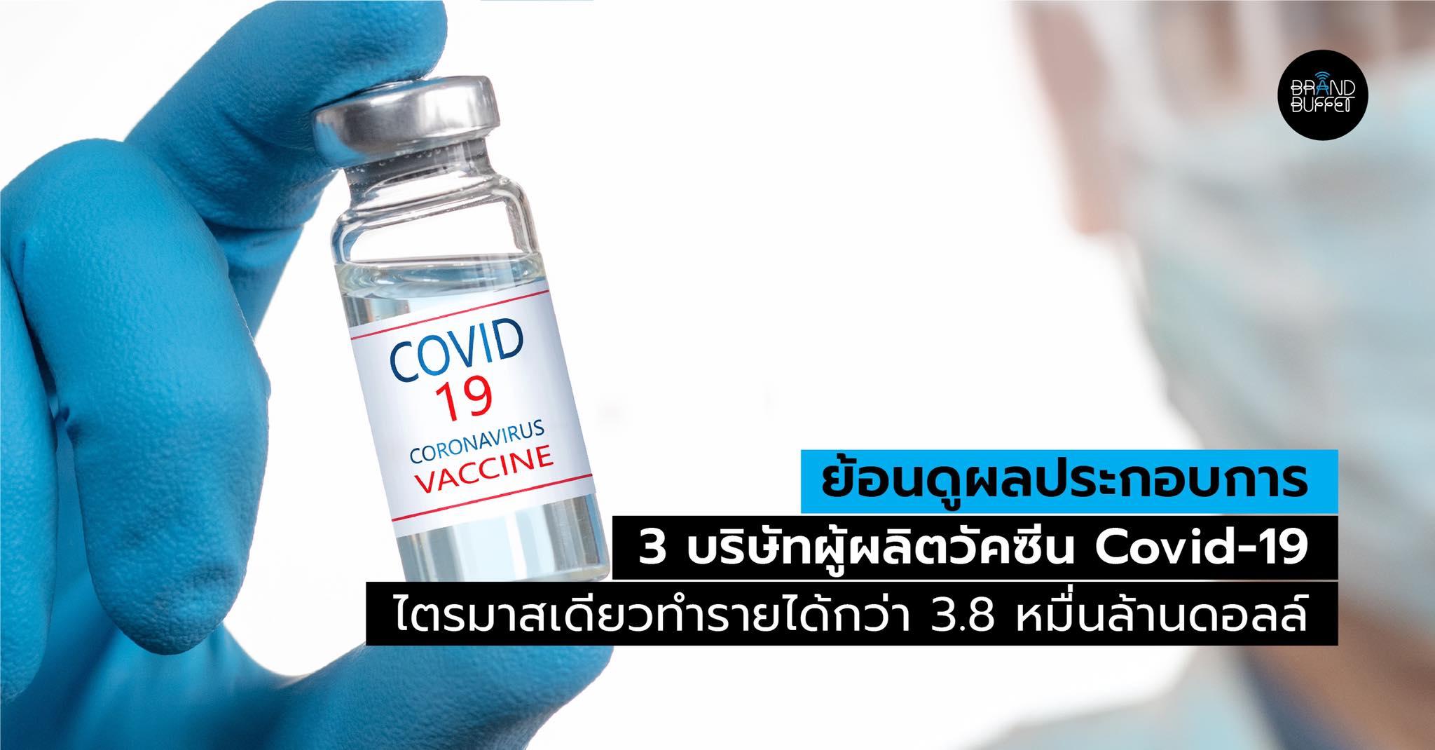 covid vaccine profit
