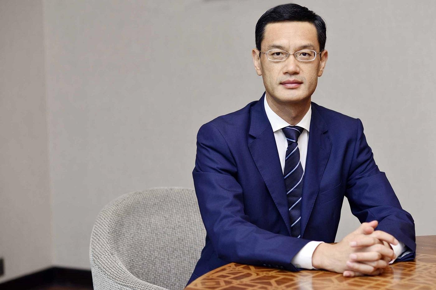 Jay Chen, Huawei Vice President APAC