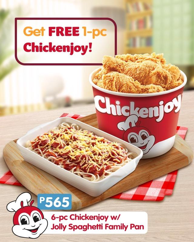 Jollibee Chickenjoy set