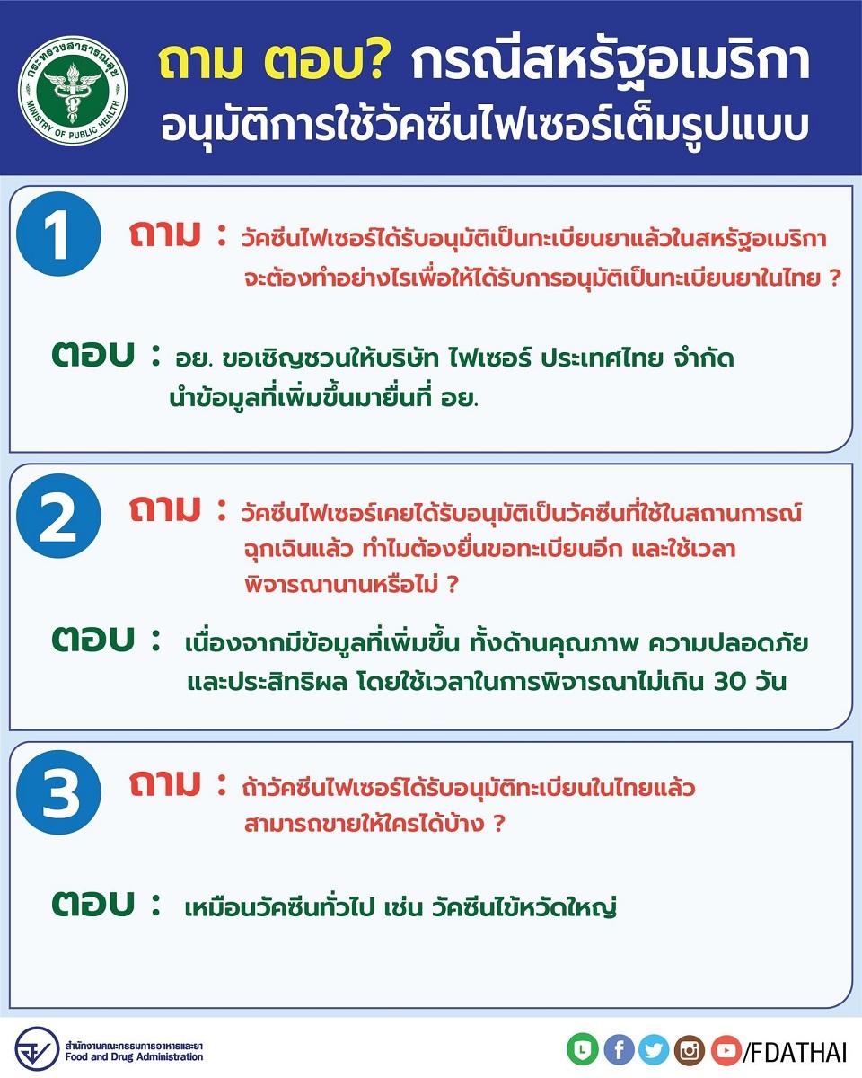 fda thai pfizer