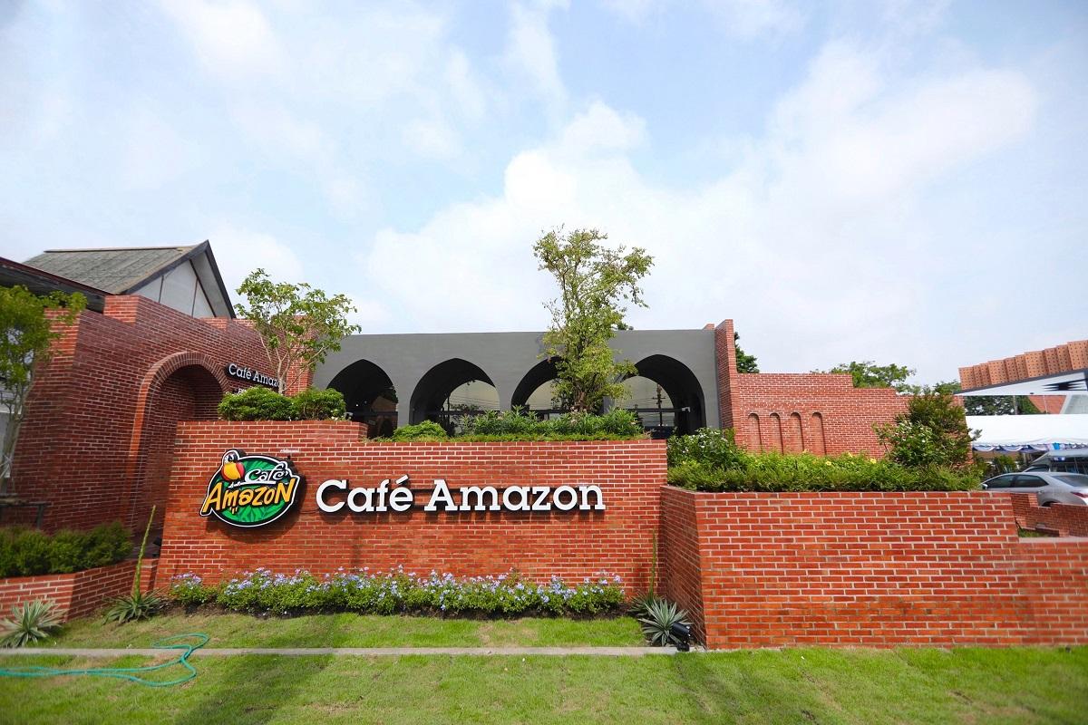 cafe amazon concept station ayuttaya