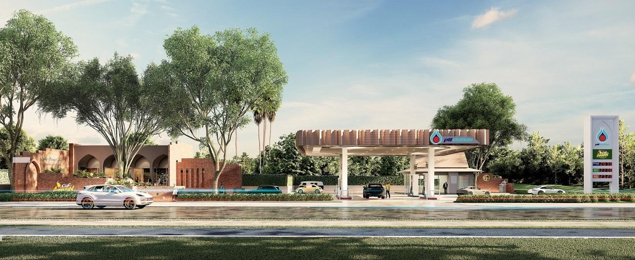 ptt station concept station ayuttaya