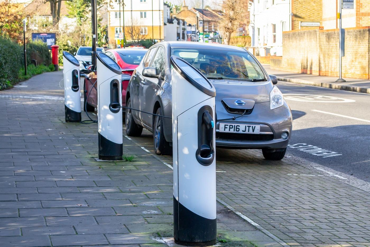 shutterstock_england ev charging station